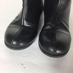 Michael Kors Shoes - MK Black Logo 5 Riding Motorcycle Classic Boots